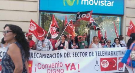 A val ncia amb una concentraci es protesta contra la for Conveni col lectiu d oficines i despatxos