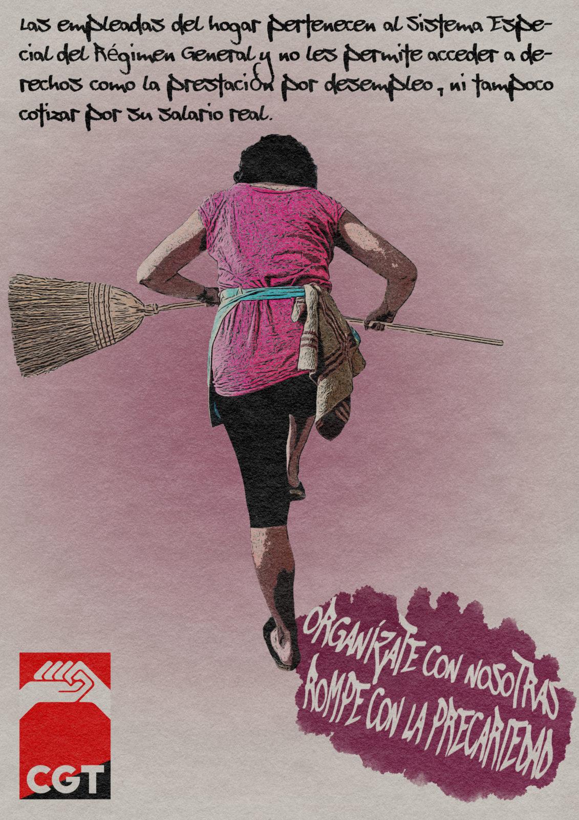 Muchos años para que se reconozcan los derechos de las trabajadoras del hogar.