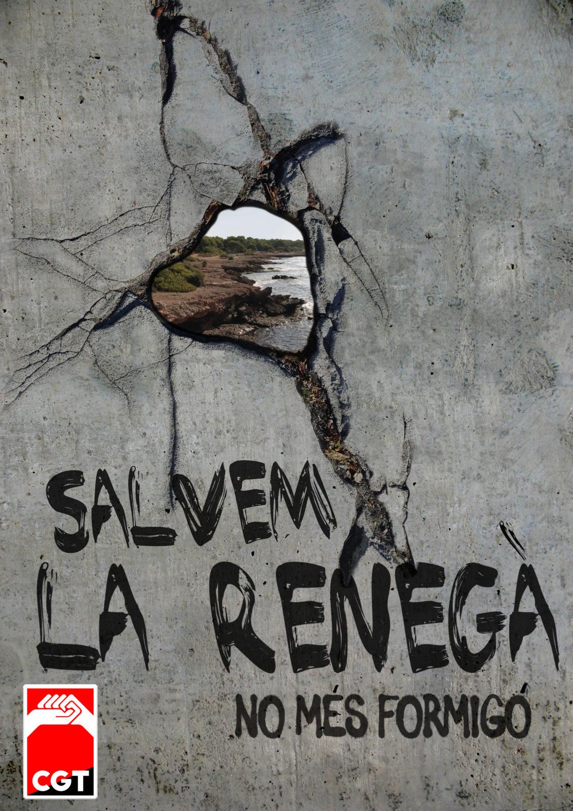 Salvem La Renegà; ¡No més Formigó!