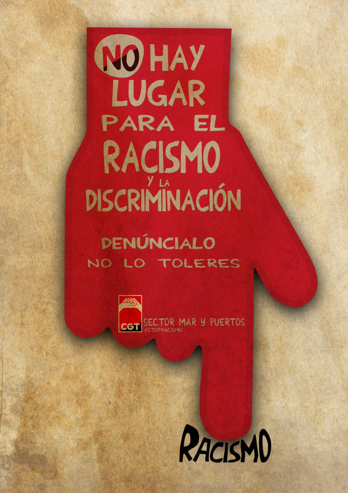 No Hay Lugar Para el Racismo