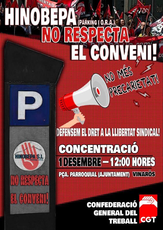 Hinobepa No Respeta Conveni!!!